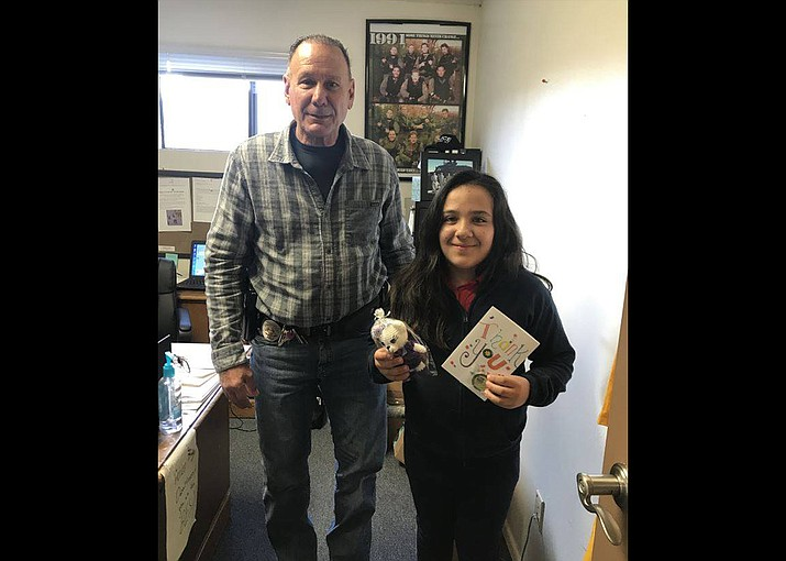 In December, Williams Police Department thanked Ana Bertha B. Velazquez of Williams for being a model citizen and returning lost money to Williams Police Lieutenant Daryl Hixson. Hixson accidentally lost $100 at Safeway and Ana returned the money to him. 'We love you Ana and thank you again for your honesty,' the police department wrote. (Photo/Williams Police Department)