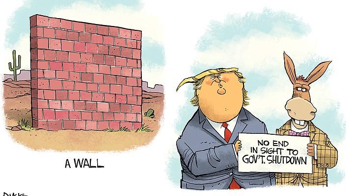 Editorial cartoon (a): Jan. 16, 2019