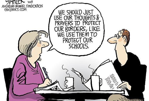 Editorial Cartoon Jan. 16, 2019