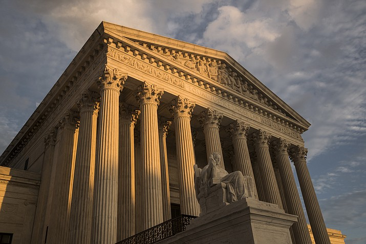 The U.S. Supreme Court on Monday, Jan. 14, 2019, refused to reinstate a 2002 voter-approved amendment to the Arizona Constitution which denied bail to anyone accused of rape. (J. Scott Applewhite/AP, file)