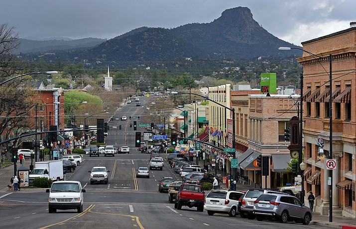 Downtown Prescott. (Courier file photo)