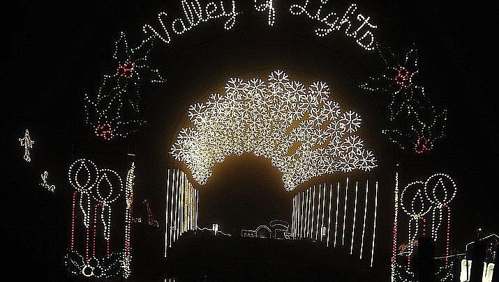 Prescott Valley police seek information on damage to Valley of the Lights display