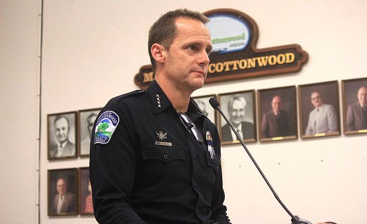 Cottonwood Police Chief Steve Gesell