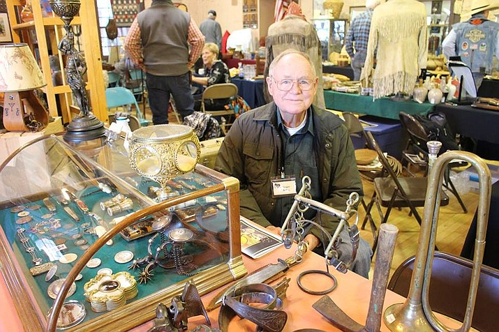 Prescott's annual Cowboy Collectors Gathering Show features vendors with large collections of spurs, bits, saddles, hats, jewelry and many other cowboy and Native American items. (Debbie Stewart/Courtesy)