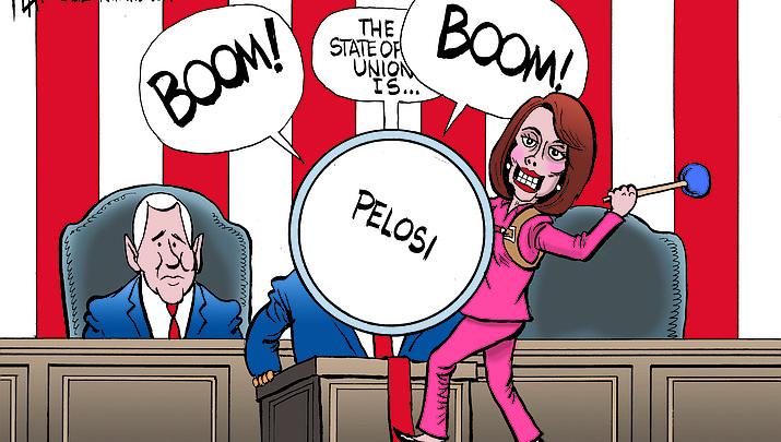 Editorial Cartoon | January 18, 2019