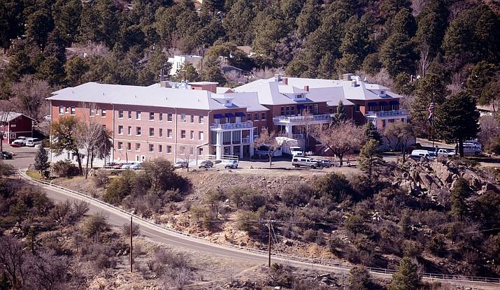 The Arizona Pioneers' Home is located at 300 S. McCormick St. in Prescott. (Matt Van Doren/Courier illustration)