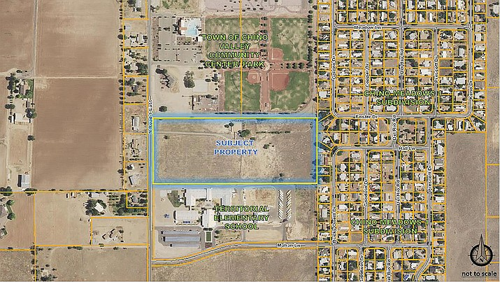 Site of the Prescott-owned well site. (Town of Chino Valley/Courtesy)