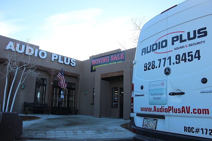 Audio Plus is having a moving sale. Everything must go. (Max Efrein/Courier)