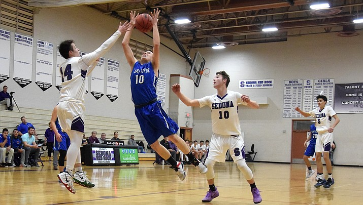 Camp Verde boys hoops sinks Sedona to win ninth straight