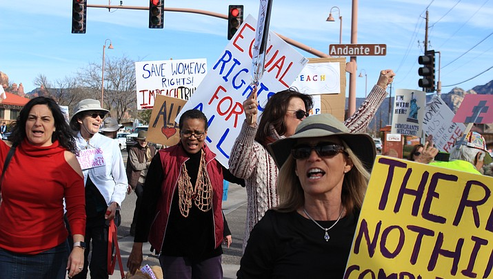 WATCH: Hundreds turn out for the 2019 Sedona Women's March