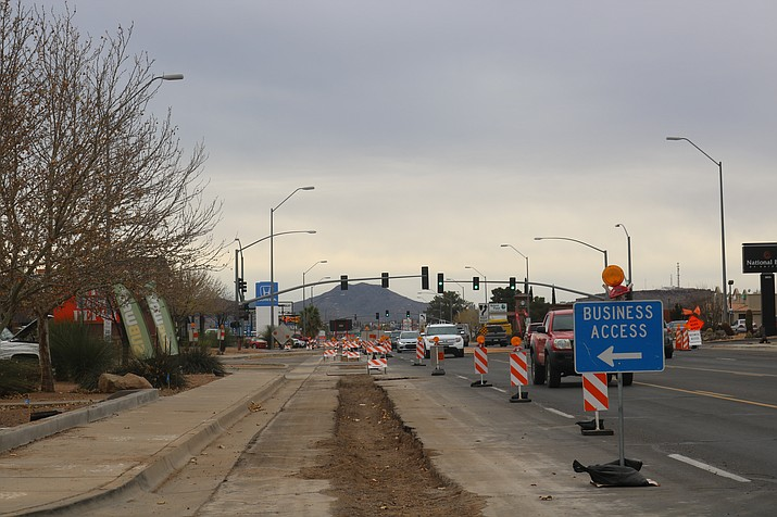 The northbound crew will begin night work at the intersection of Gordon Drive and Stockton Hill Road from 7 p.m. to 6 a.m. starting Sunday, Jan. 27. (Daily Miner file photo)