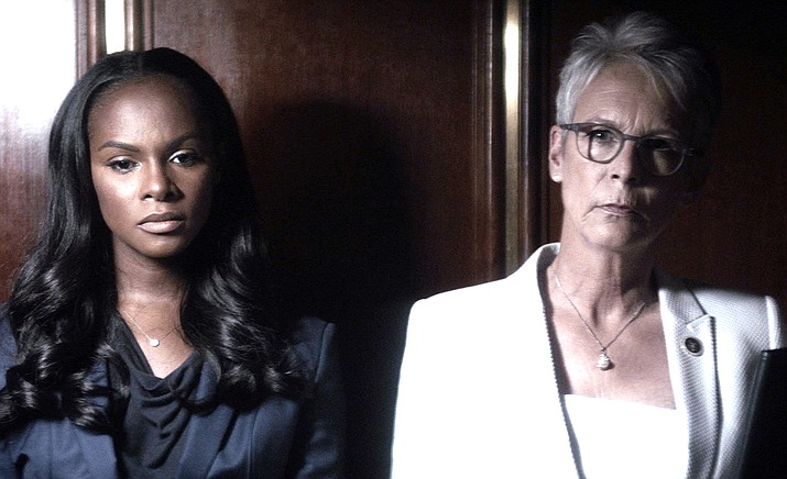 """An Acceptable Loss"" stars Jamie Lee Curtis, Tika Sumpter, Ben Tavassoli and Jeff Hephner."