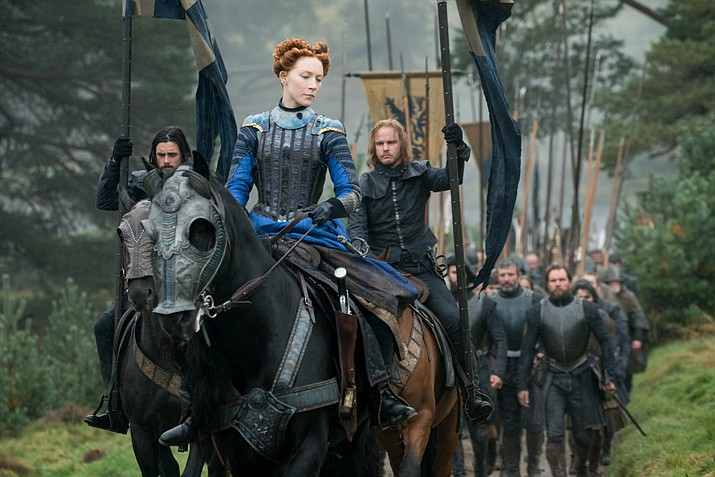The performances in Mary Queen of Scots are all good, especially Saoirse Ronan representing Mary.