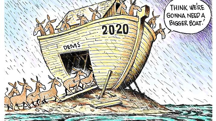 Editorial cartoon (1): Jan. 22, 2019