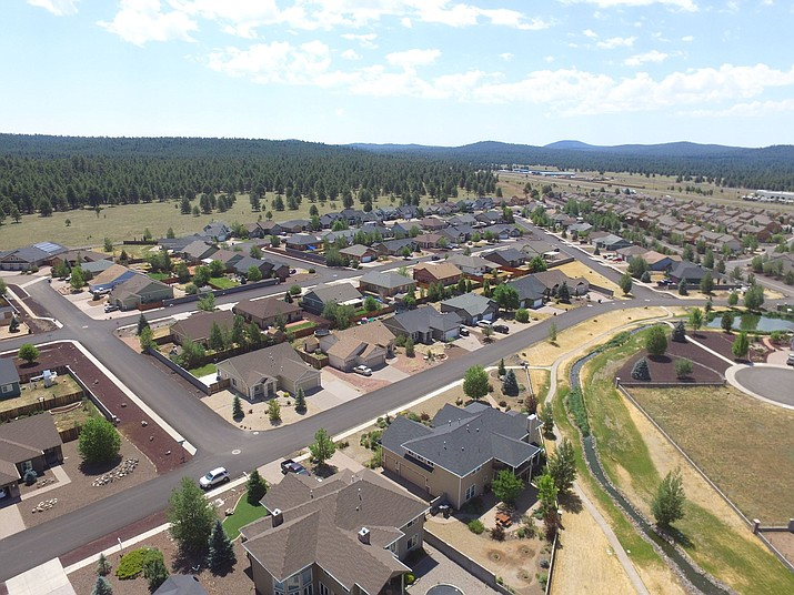 The public is invited to attend an open house to review the draft Bellemont Area Plan Jan. 31. (Graphic/Coconino County)
