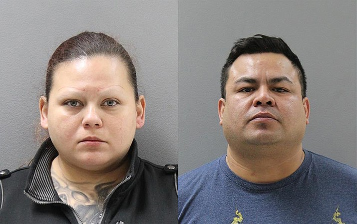 Laura Carrasco, 32, and Juan Breceda, 37, were arrested in the Cordes Lakes area on Jan. 16 after 12 pounds of heroin were found in the vehicle they were travelling in.