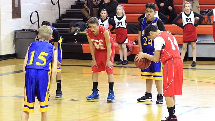 Parks, Ash Fork and Williams compete at first middle school basketball games