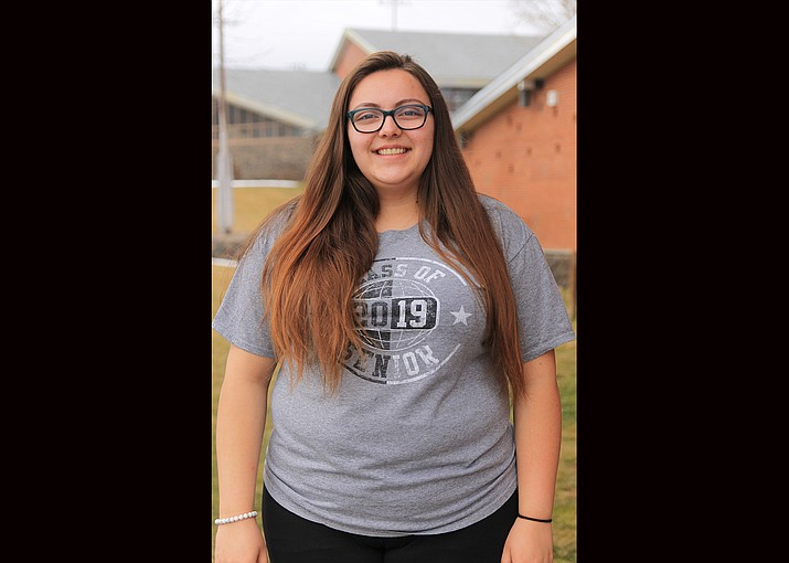 Sierra Brandt is a senior at Williams High School. (Wendy Howell/WGCN)