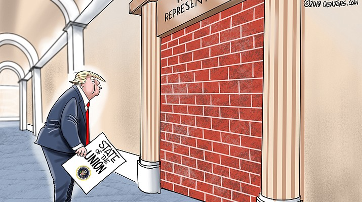 Editorial cartoon (b): Jan. 23, 2019