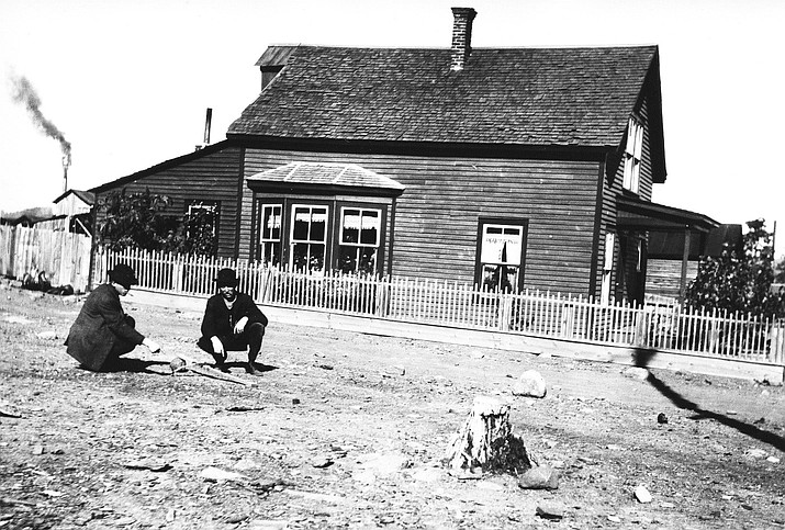 An unidentified home, likely in the city of Williams, circa 1900. (Photo/Williams Library Historical Photo Archive)