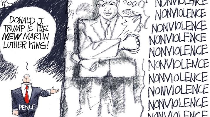Editorial cartoon (1): Jan. 23, 2019