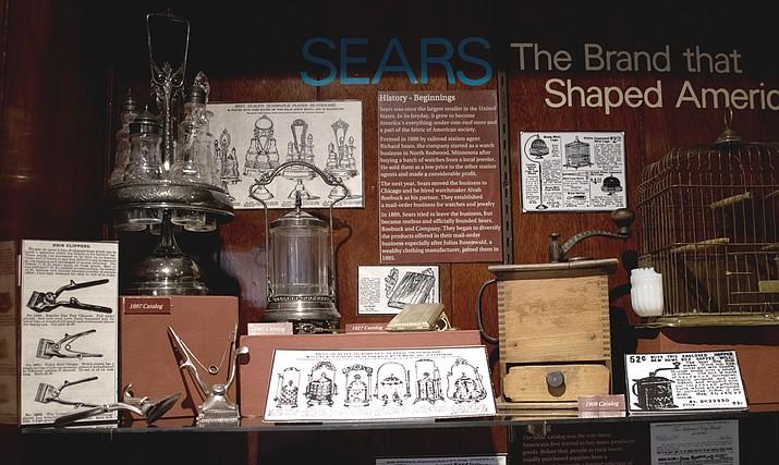 Sharlot Hall exhibit. (Courtesy)
