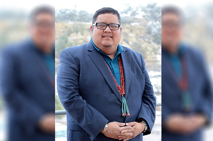 Seth Damon was elected as Speaker Pro Tem Jan. 15 by the delegates of the 24th Navajo Nation Council. (Photo/Office of the Speaker)