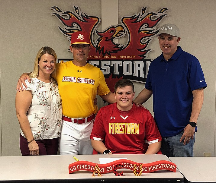 Camp Verde senior Dawson McCune signed with Arizona Christian University. Photo courtesy Dawson McCune