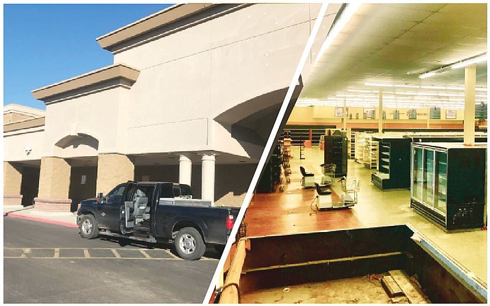 The Heights Church goes in on the old Haggen/Albertson's building in Prescott Valley for a second campus in the Quad Cities. The Heights is selling off the contents inside the Prescott Valley building in an everything-must-go sale. (George Johnston/Courier)