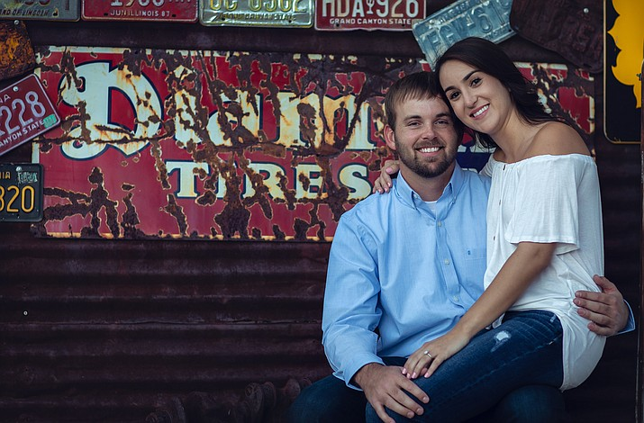 Kyra Williams, daughter of Porter and Roxanne Williams, of Kingman is now engaged to Cody Nutt, son of Tim and Christianne Nutt, of Kingman. (Photo provided by Kyra Williams)