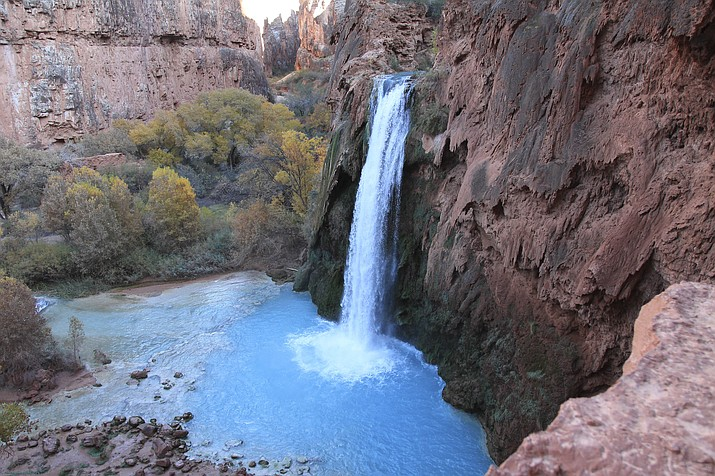 Visitors to the Havasupai Reservation will need to get themselves to the campground and waterfalls on their own, as the tribe is not offering operator licenses for guides this year. (Loretta Yerian/WGCN)