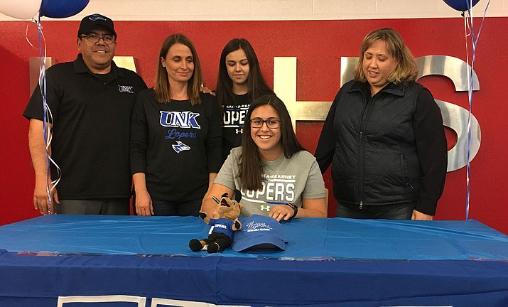 Lee Williams senior Paige Lucero will continue her golf career at the University of Nebraska Kearney. (Photo by Beau Bearden/Daily Miner)
