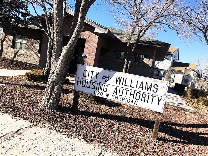 The City of Williams Housing Authority felt the impacts of the recent government shutdown. (Wendy Howell/WGCN)