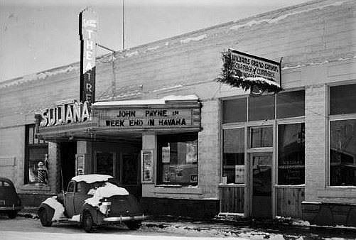 The World Famous Sultana Theatre in Williams, circa 1941. (Photo/Williams Library Historical Photo Archive)