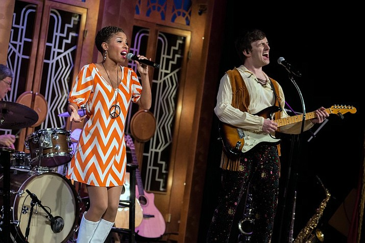 Crystal Stark and Alex Mack perform the hits of 1969. (Courtesy)