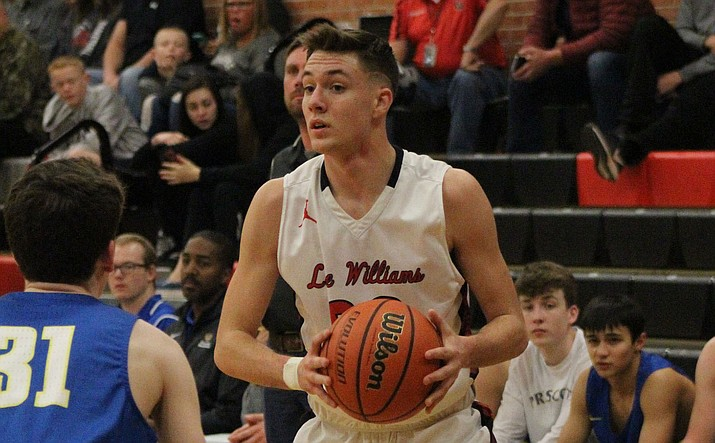 Cody Ferrin and the Vols play their final regular season home game Friday night against Mohave. It will also be Lee Williams' annual Silent Night game. (Daily Miner file photo)