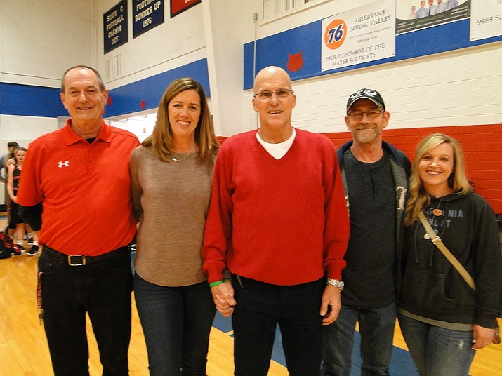 From left are Kevin Campbell, Leah Duncan, Jeff Duncan, Igal Blumstein, and Kim Blumstein. (Pat Williamson/Courtesy)