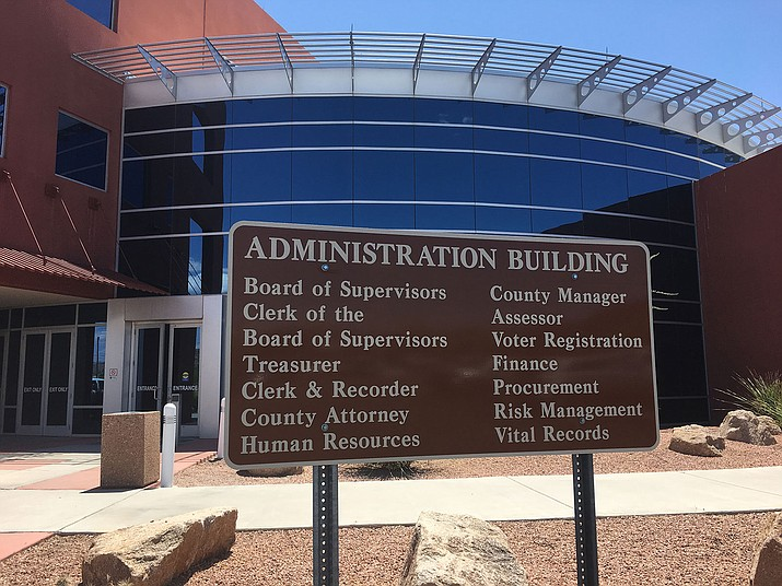 The Mohave County Board of Supervisors will meet at 9:30 a.m. Monday at the Mohave County Administration Building, 700 W. Beale St. (Daily Miner file photo)
