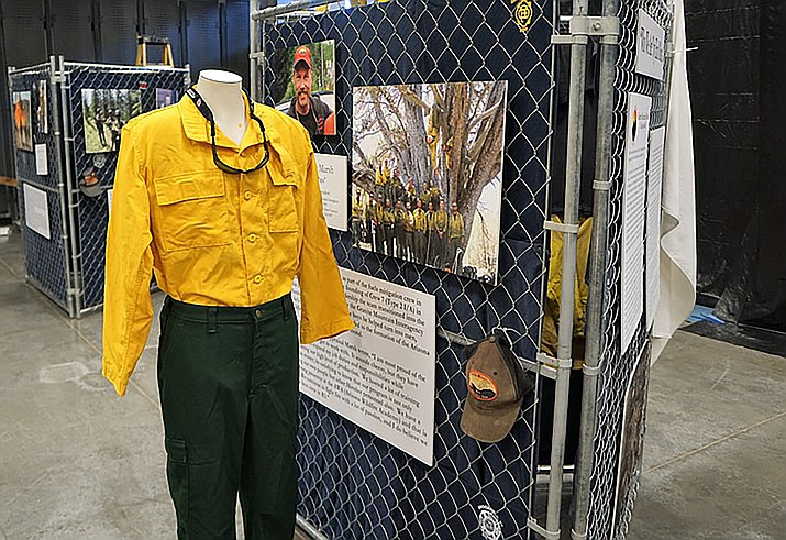 The Granite Mountain Interagency Hotshot Crew Learning and Tribute Center at the Prescott Gateway Mall open on Fridays and Saturdays. (Cindy Barks/Courier, file)