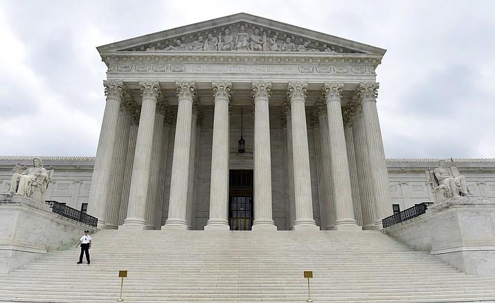 The U.S. Supreme Court on Friday, Oct. 3, 2014, in Washington. (Susan Walsh/AP, File)