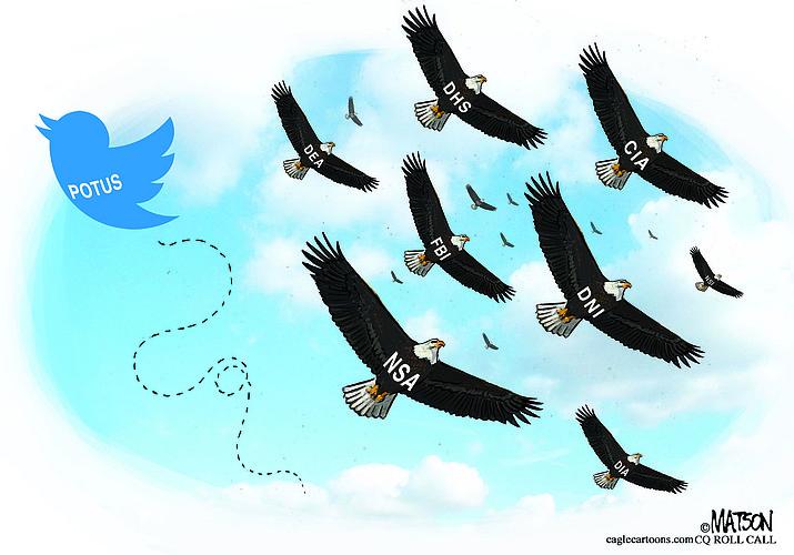 Editorial cartoon (2): Feb. 4, 2019