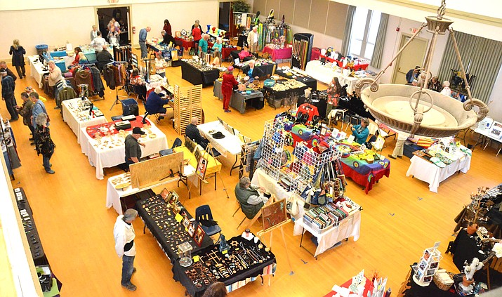 The annual Arts and Crafts American Style craft show organized by the Verde Historical Society returns to the historic Clemenceau School building in Cottonwood Feb. 9.