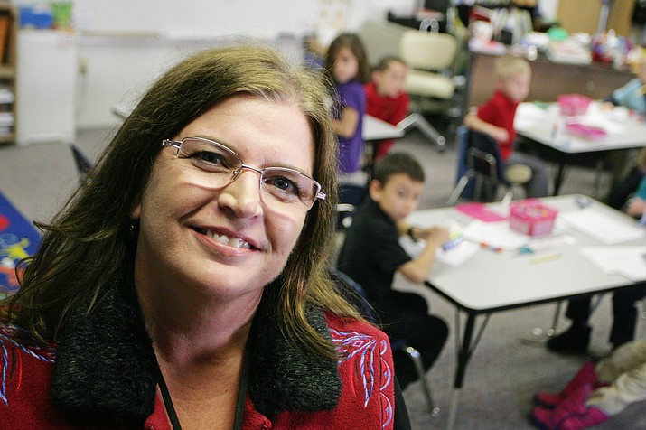 Jill Maynard has taught kindergarten at Camp Verde United Christian School for the past 13 years. VVN/Bill Helm