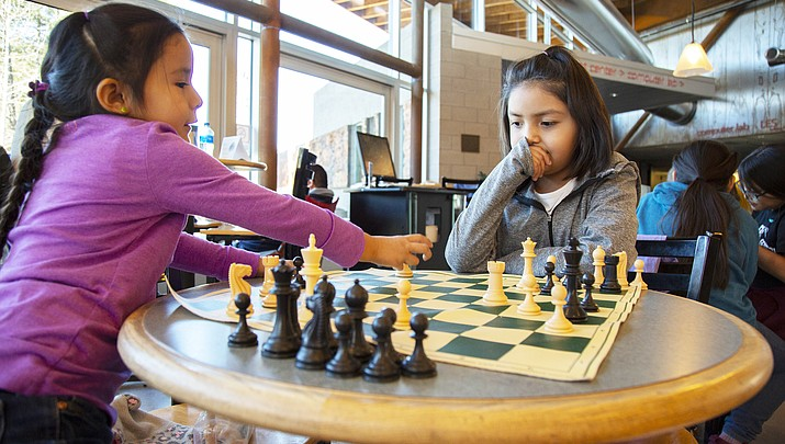 Northern Arizona girls participate in Fifth annual Flagstaff All-Girls Chess Tournament