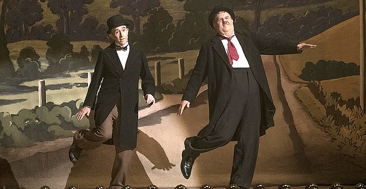 The main focus of Stan & Ollie is the relationship between the two stars. They were very close and supportive of each other. The outstanding portrayal of the two men — makeup, posture and especially the acting together will make viewers believe they are watching the legendary pair themselves. (Sony Pictures)