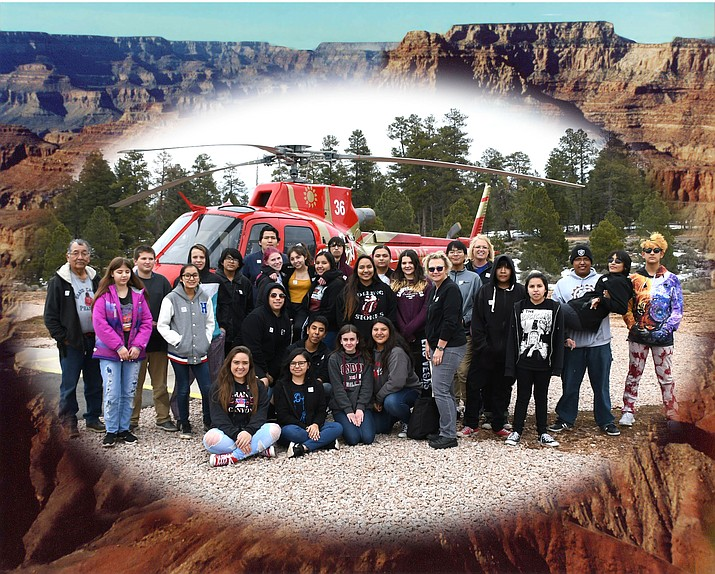 Papillon Grand Canyon Helicopters hosted Grand Canyon School's Career Exploration classes Jan. 31. (Submitted photo)