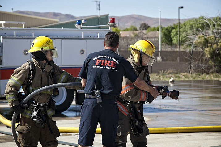 Yavapai College fire science instruction. (Courtesy)