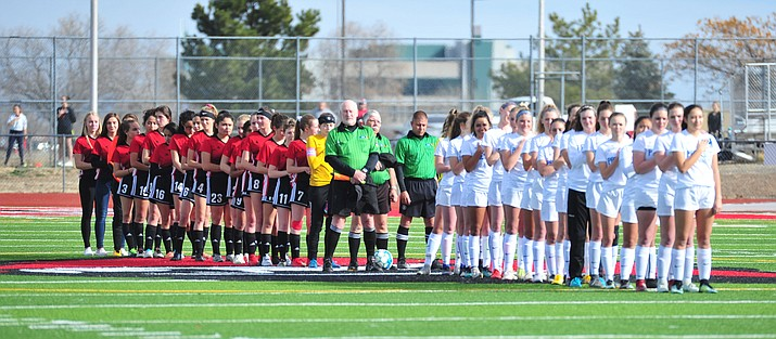 The Bradshaw Mountain and Prescott boys and girls soccer teams have qualified for the 4A state play-in and state tournaments. (Les Stukenberg/Courier, file)