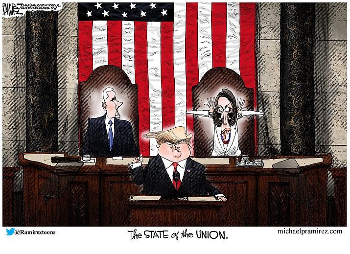 Editorial Cartoon 2: Feb. 8, 2019