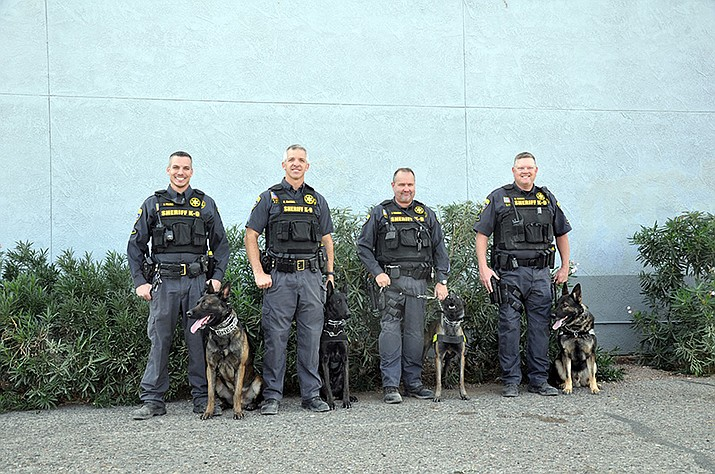 A charity golf tournament is being held at Los Lagos Golf Club in Fort Mohave on Saturday, Feb. 23 in conjunction with Mohave County Sheriff's K-9 Foundation, which provides support for the MCSO K-9 program. (Mohave County Sheriff K-9 Foundation photo)